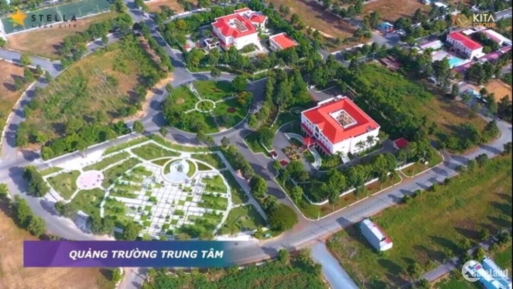Bán lô đất 125m2 thổ cư mặt tiền đường lớn thích hợp kinh doanh