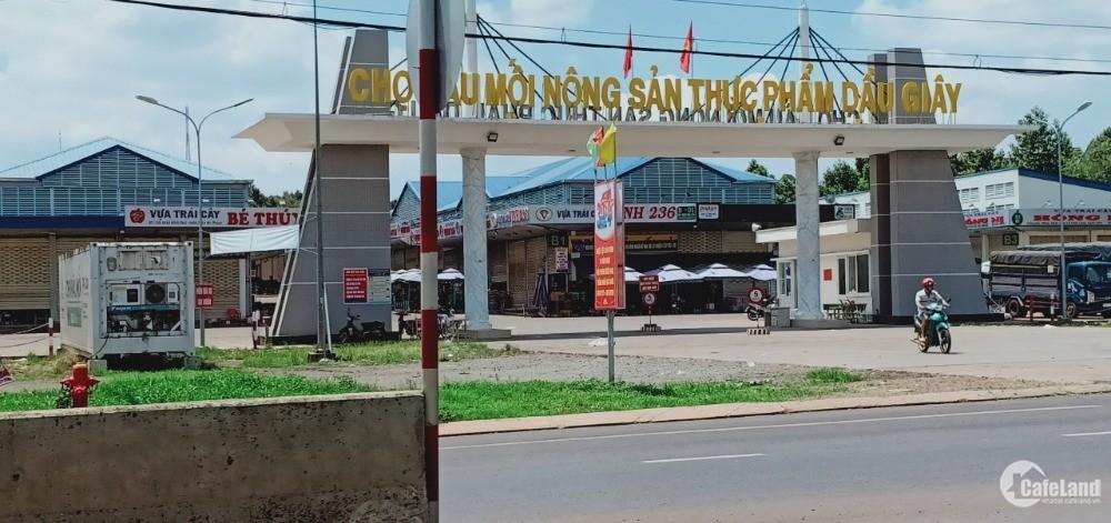 Đất MT quốc lộ 1A,ngay UBND xã Hưng Lộc,sổ riêng,6triệu/m2 Thống Nhất.ĐN