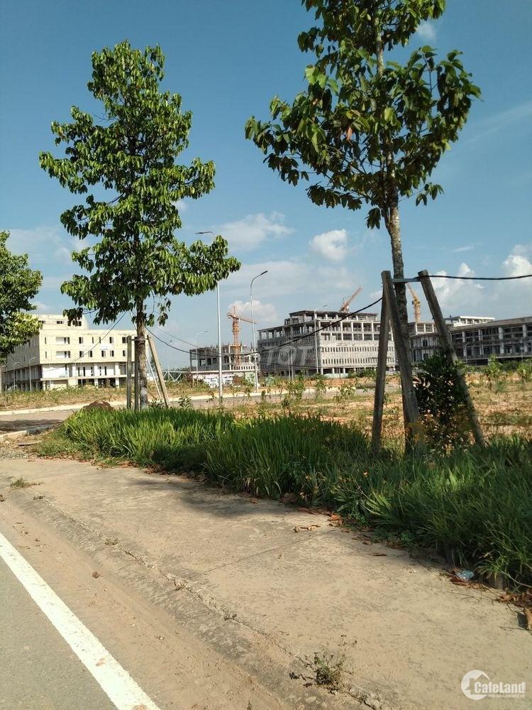 Đất nền nhà phố- DT 100m2, KDC đông đúc