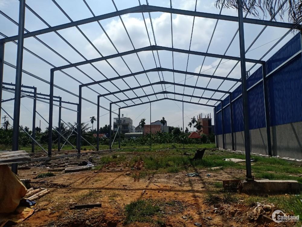 Kho xưởng mới xây 500m2, 1000m2 An Phú Đông Quận 12