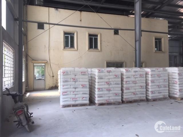 Cho thuê kho xưởng DT 2500m2 Trí Quả Thuận Thành Bắc Ninh.