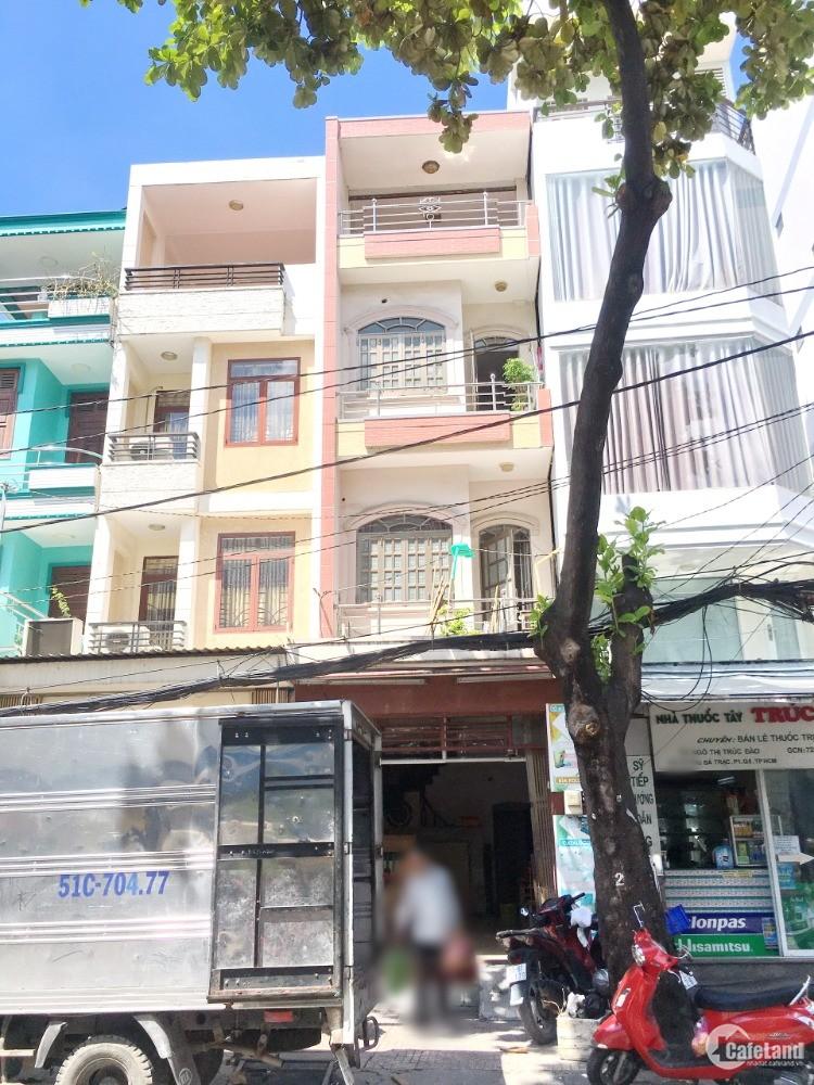 Cho thuê nhà nguyên căn mặt tiền đường Dương Bá Trạc Phường 1 Quận 8 - DT: 56m2