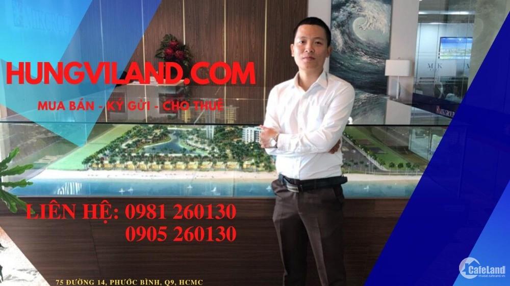 Cho thuê nhà phố mặt tiền đường 12m, phường Phước Bình, Quận 9