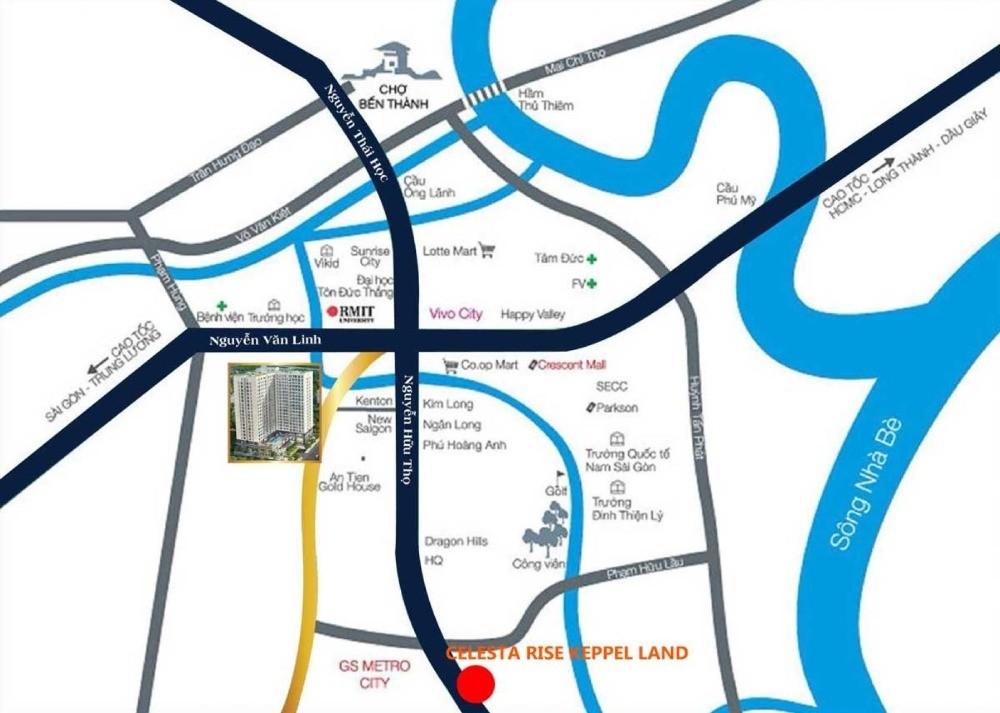 Chỉ Thanh toán 45% nhận ngay căn hộ đẳng cấp Singapore Celesta Rise.LH0936494101