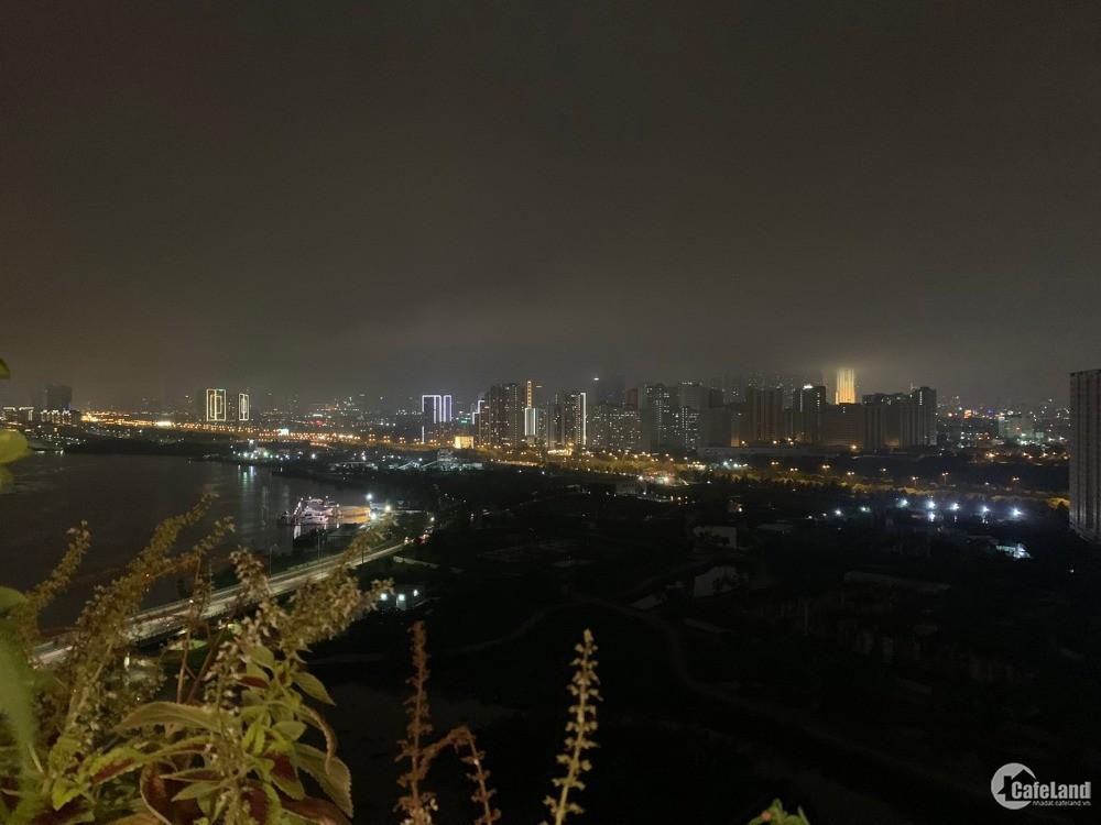 Bán 2PN view sông SG khu CBD quận 1 xuất sắc, 7 tỷ all-in, nội thất cao cấp.