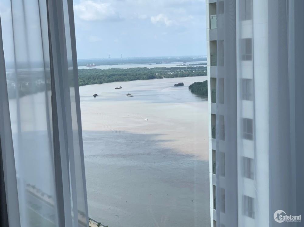 Căn góc 3PN view sông SG, 142m2, nội thất cao cấp chuẩn Âu Châu, 12 tỷ all-in