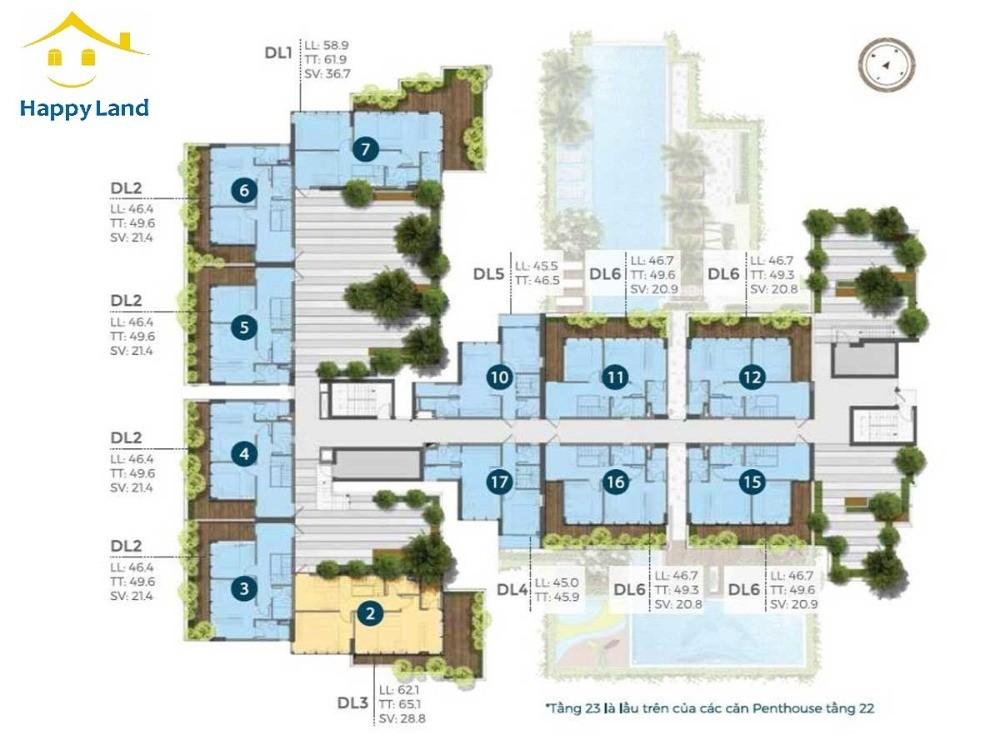 Nhận booking căn hộ Precia giới hạn 333 căn tại quận 2 với mức giá hấp dẫn nhất