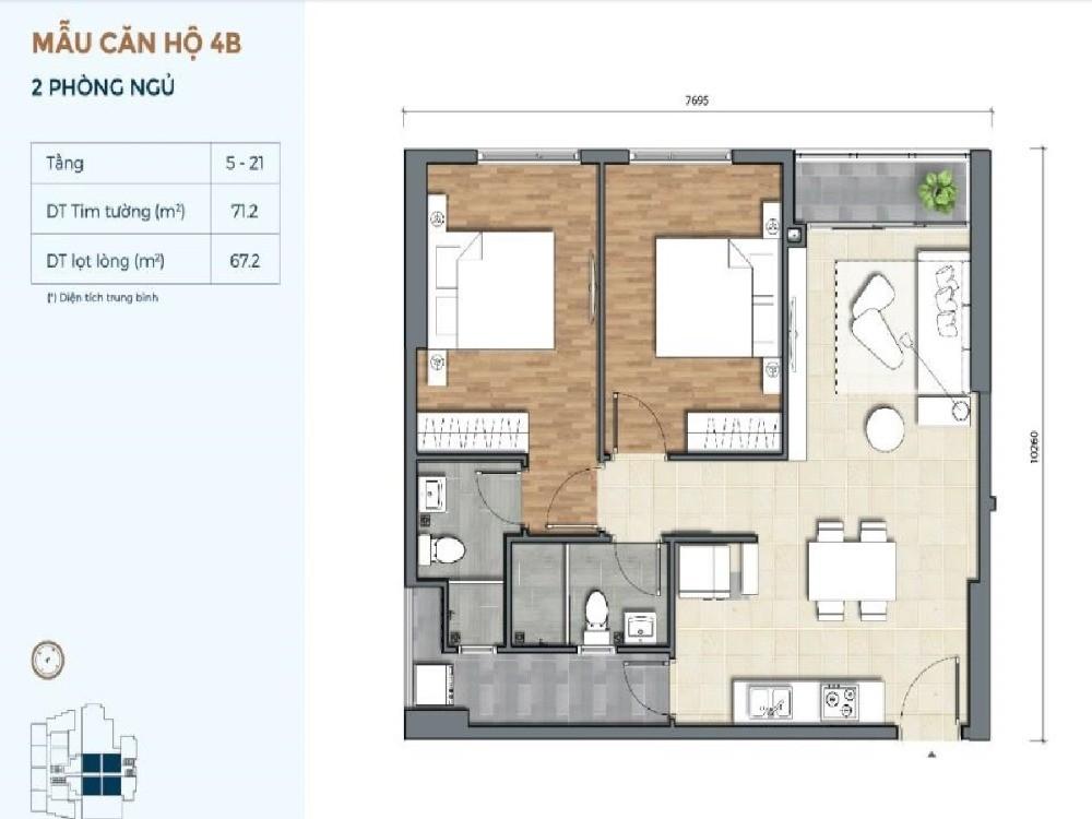Chỉ cần thanh toán 1,1 tỷ sở hữu căn hộ Precia cao cấp theo phong cách châu  Âu.
