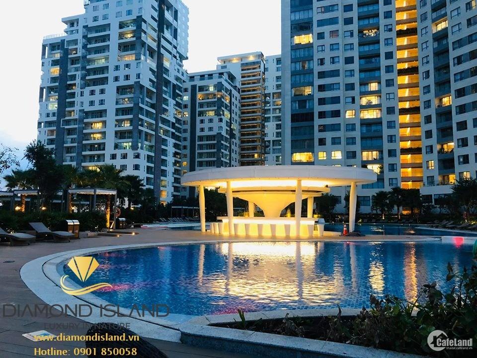Bán căn hộ Đảo Kim Cương Quận 2, từ 1-4 phòng ngủ, view sông