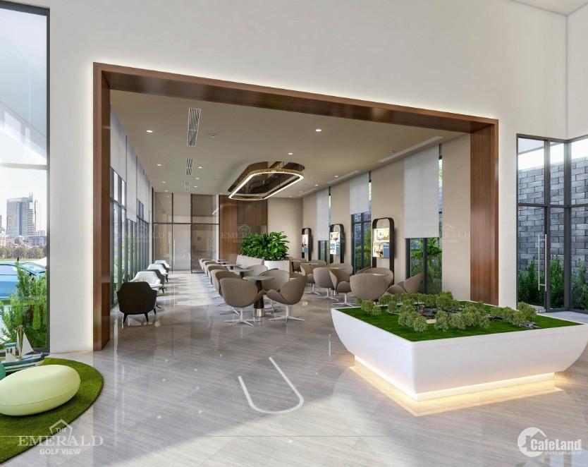 Mở bán đợt 1 chung cư cao cấp EMERALD GOLF VIEW  bình dương