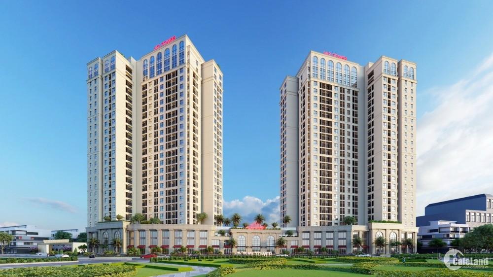 VCI Tower - Chung cư biểu tượng TP.Vĩnh Yên tháp đôi 25 tầng