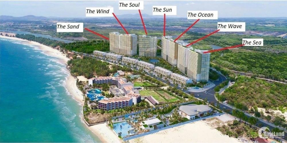 Bán căn hộ hồ tràm complex sát dự án novaland ven biển lộc an giá 1,4 tỷ