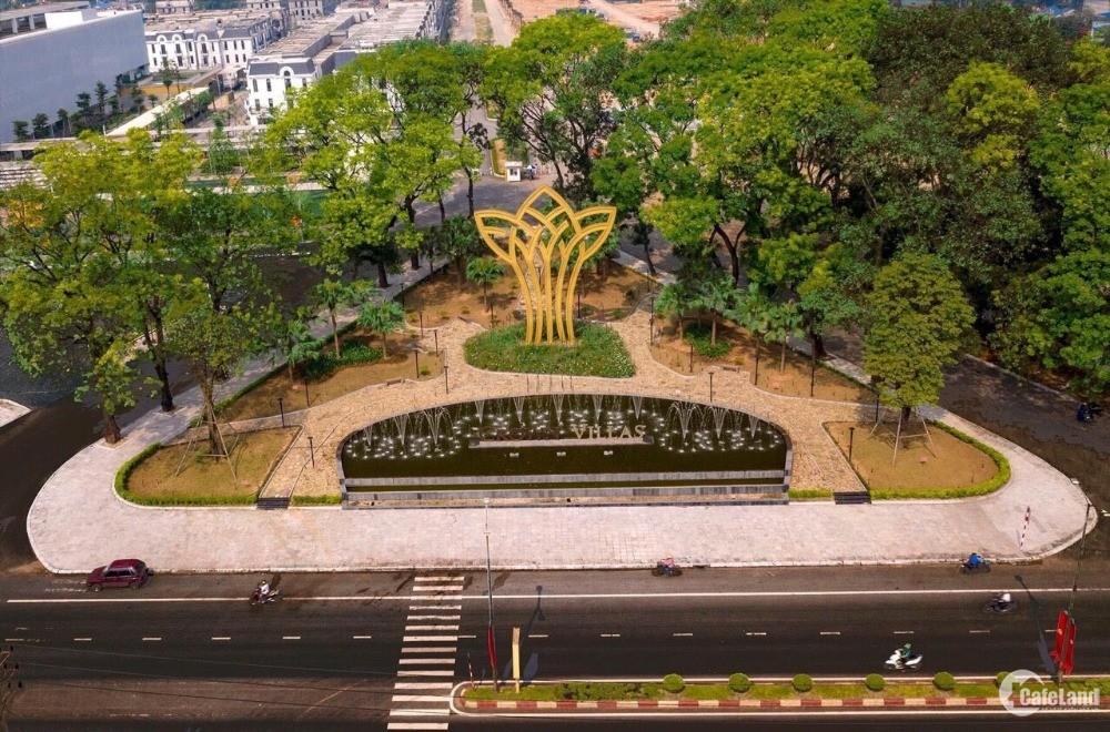 Khu đô thị đồng bộ hoàn chỉnh đầu tiên có tại Thái Nguyên Crown villas