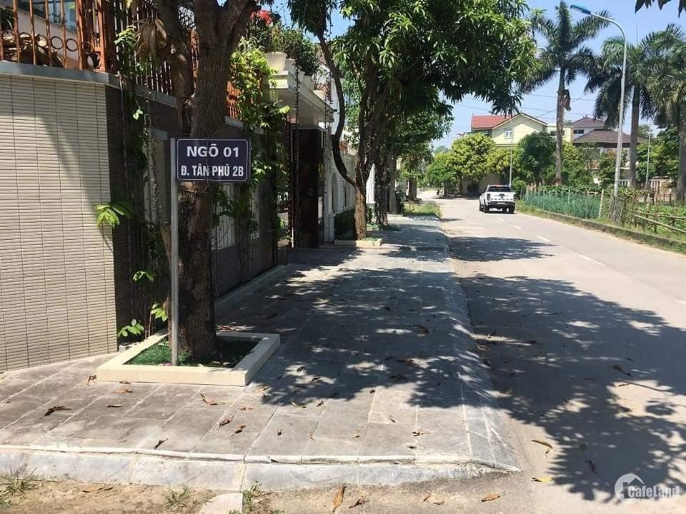 Bán căn biệt thự đẹp khu Tân Phú vinaconex 9