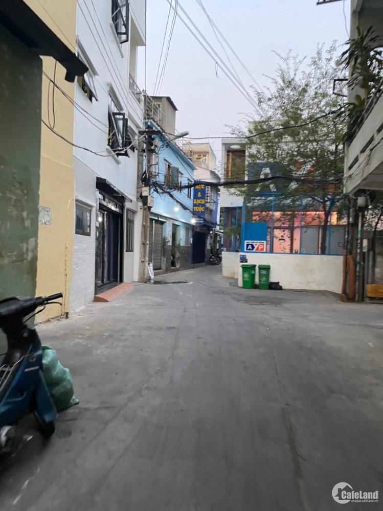 Nhà 3 mặt hẻm xe tải Đinh Tiên Hoàng p1 Bình Thạnh, 18x6m giá 15.5 tỷ