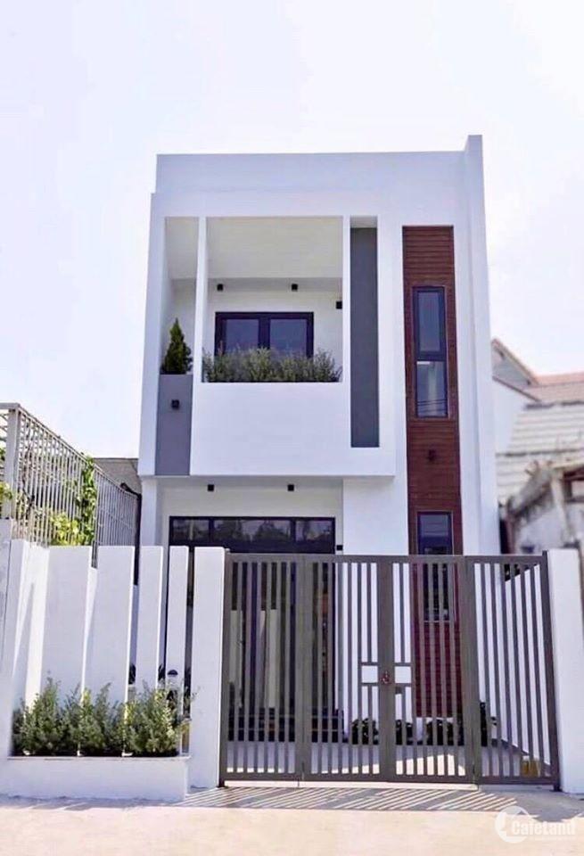 Nhà đường Đinh Đức Thiện, Bình Chánh, 1 trệt 2 lầu CẦN BÁN, 1 tỷ 7