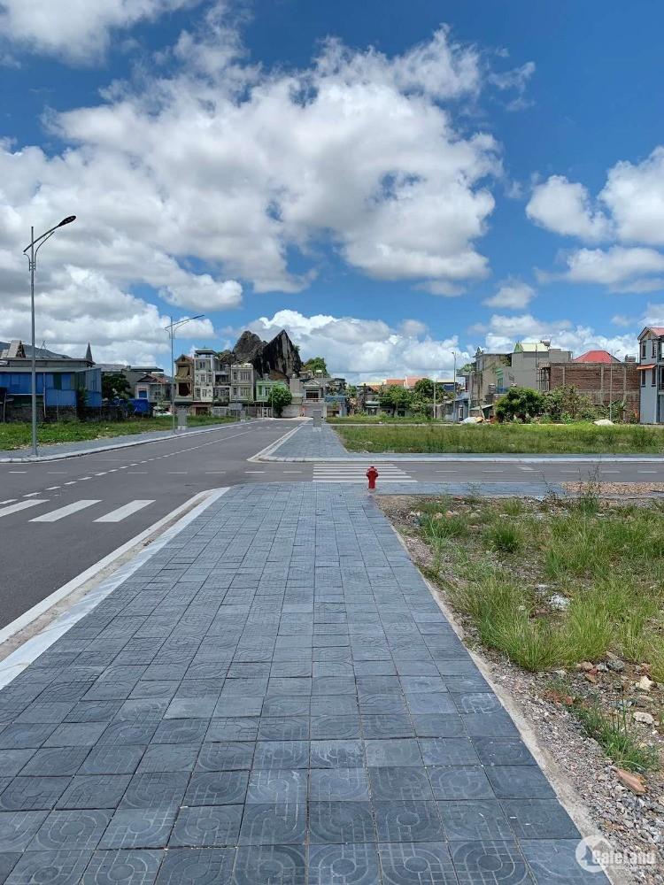 Đất nền Cẩm Thạch sát chân dự án siêu thị Big C Cẩm Phả