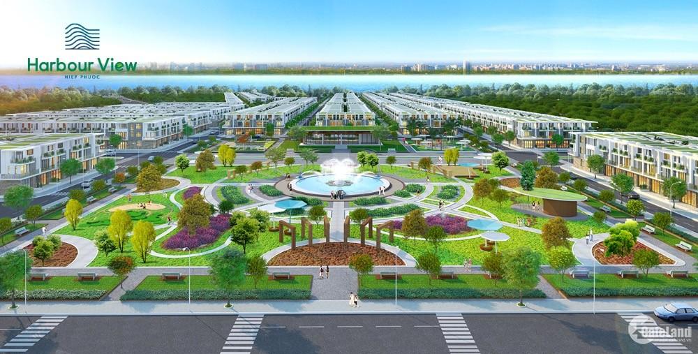 Đất nền sổ đỏ ven sông khu Nam Sài Gòn giá tốt-Hiệp Phước Harbour View