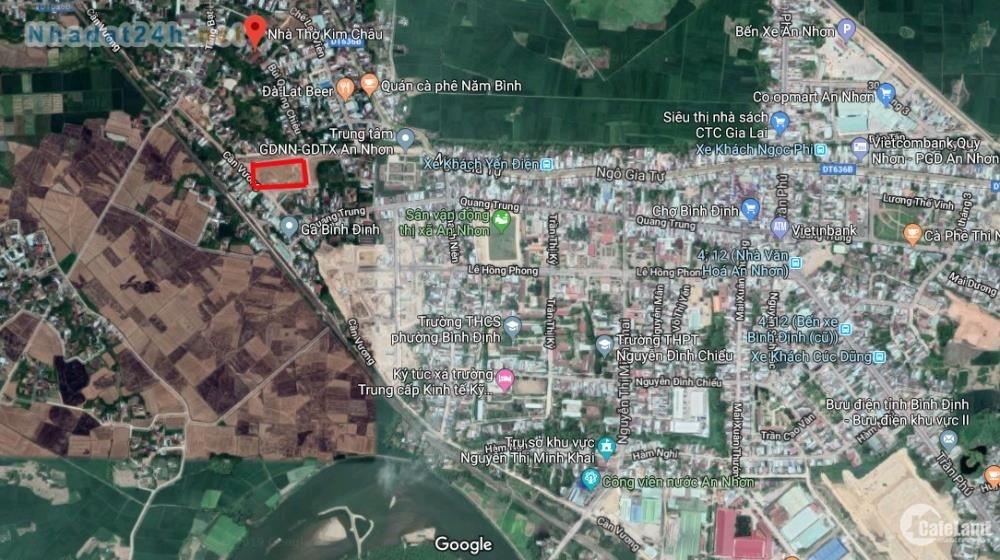 Đất nền trung tâm tx An Nhơn Phường Bình Định giá chỉ 8,5 tr/m2
