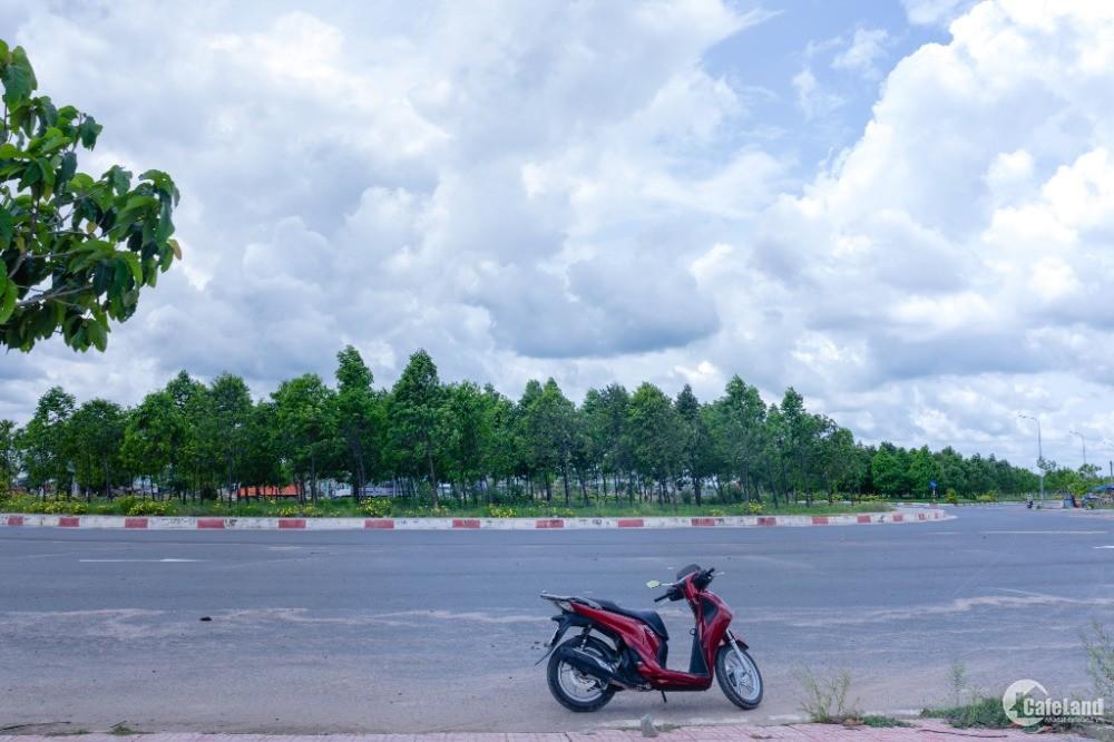 Đất bán tại TTrấn Bến Cầu giáp đường Cao Tốc Mộc Bài-An Sương,đất sổ hồng riêng.