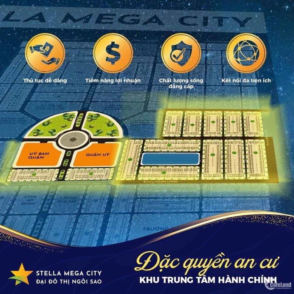 Bán đất nền đại đô thị Stella Mega City Cần Thơ