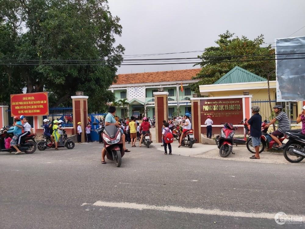 Đất thổ cư 100% khu bà cờ Thị Trấn Cam Đức, cam Lâm, sát chợ.