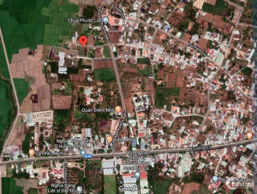 Lô đất đẹp giá đầu tư tại thị trấn Đất Đỏ - BRVT