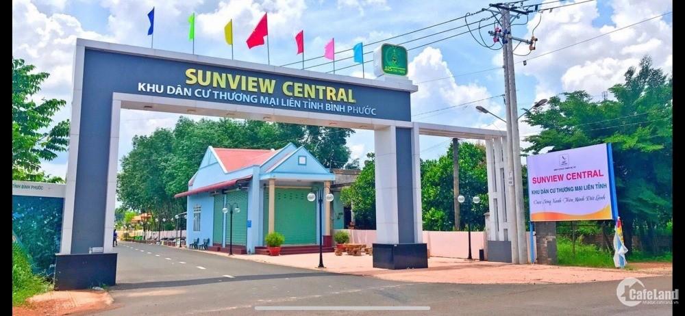 Đất KDC thương mại liên tỉnh - TP Đồng Xoài