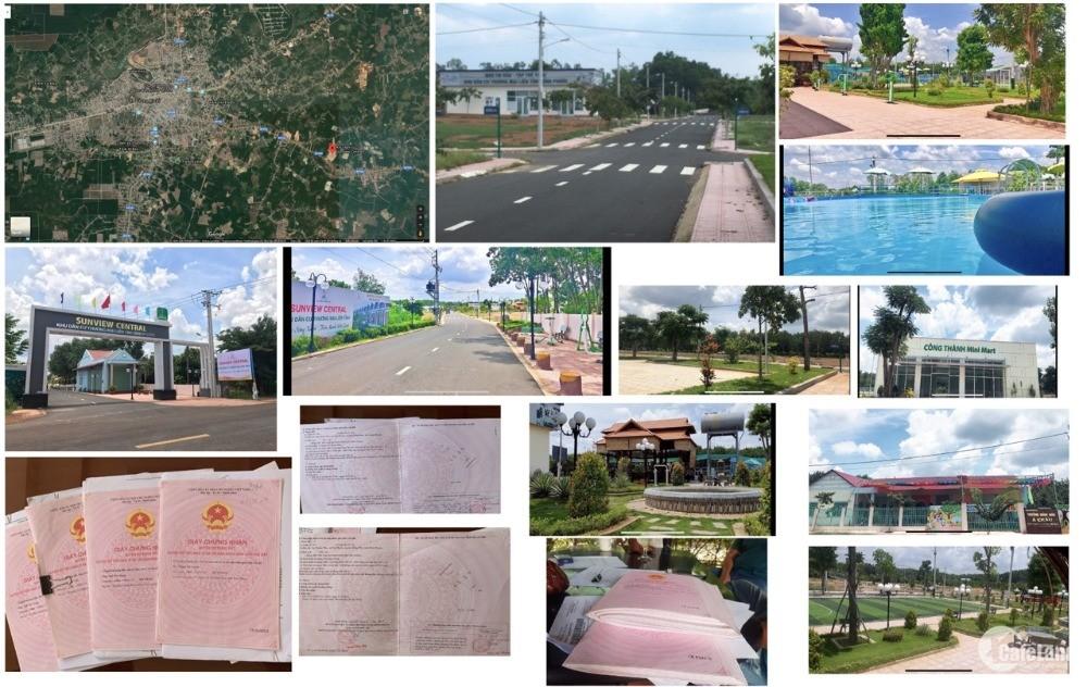 bán đất dự án sunview central - TP Đồng Xoài