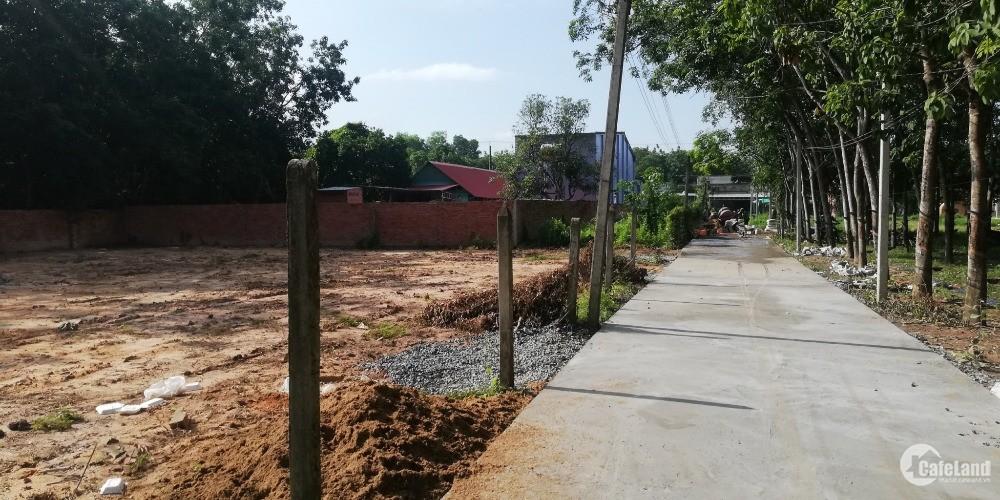 Bán đất liền kề KCN Hiệp Thạnh, Tây Ninh 355tr/120m2, thổ cư, sổ hồng riêng.