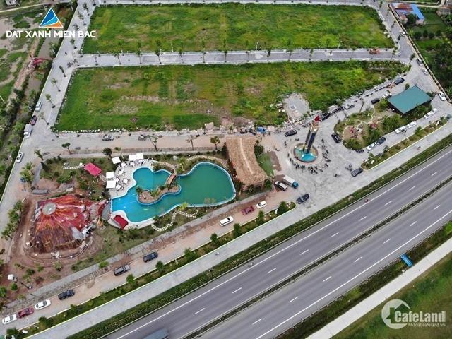 Khai trương bể bơi, tặng vàng phú quý tại dự án Green Park Hưng Hà