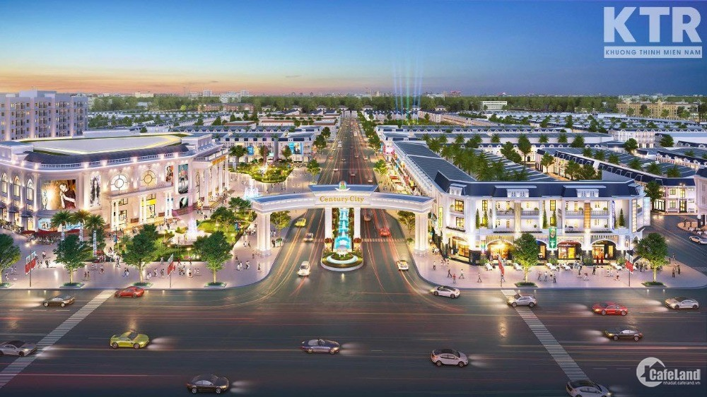 Bán đất nền dự án tại Dự án CENTURY CITY CHỈ TỪ 510Tr/ nền lãi suất 0%