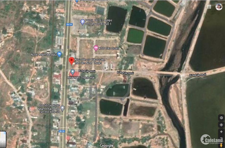 Thanh lý nhanh lô góc KDC Cầu Quằn – Cà Ná -Ninh Thuận