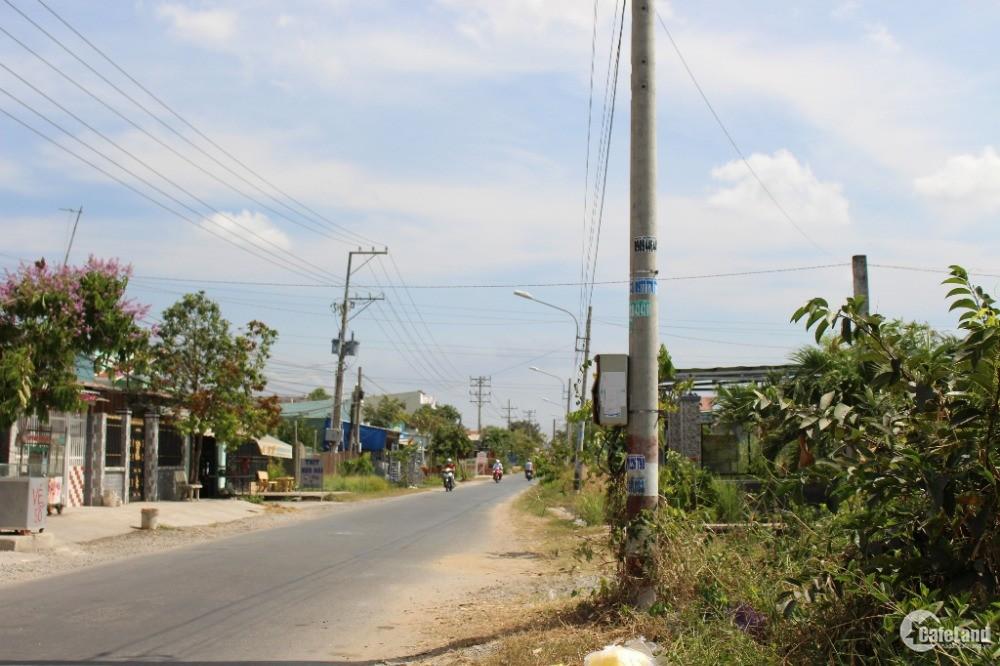 Giải quyết công việc bán gấp 1000m ngay cảng Phước Đông- Cần Đước - chỉ 490triệu