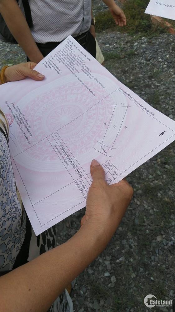 Bán đất Vườn Nhơn Trạch,chính chủ, sổ sẵn, sang tên ngay. giá 480 triệu/100m2