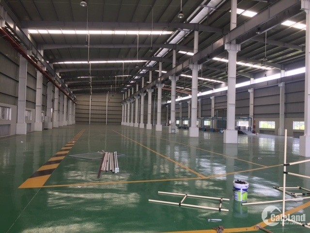 Cho thuê kho xưởng DT 3800m2 KCN Đại Đồng, Tiên Du, Bắc Ninh.