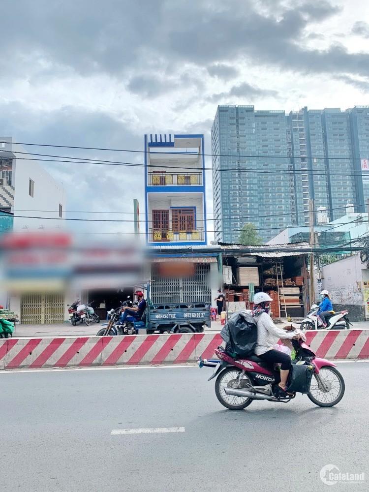 Mặt Tiền Trệt 2 Lầu, DT: 4x22m, Huỳnh Tấn Phát, Quận 7