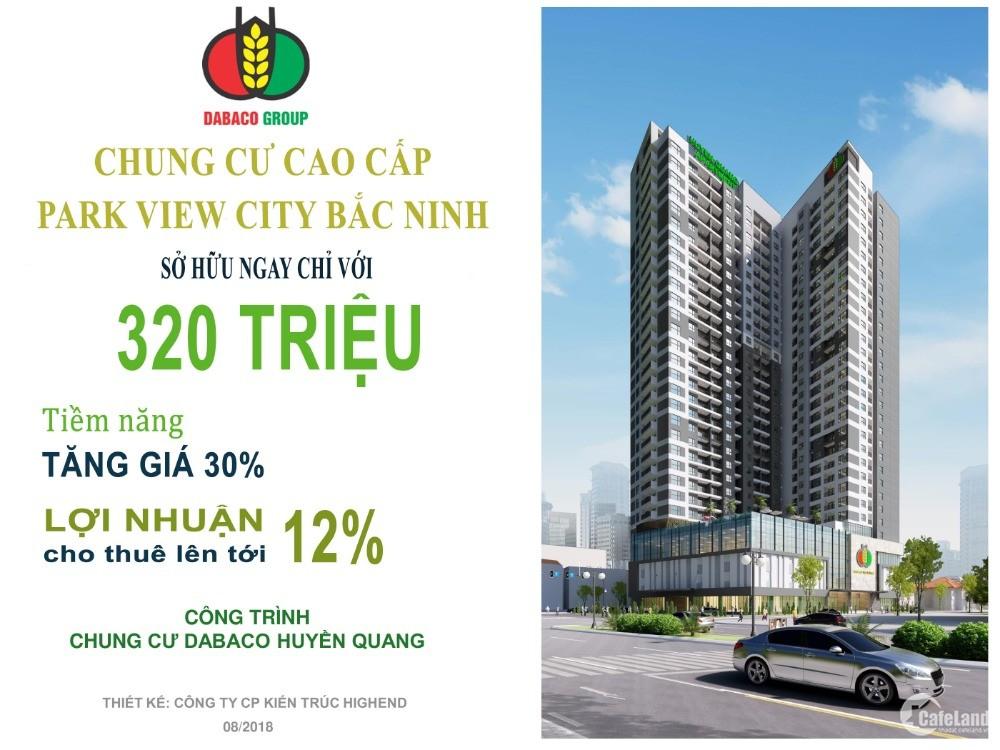 Bán căn hộ chung cư Park View City Bắc Ninh
