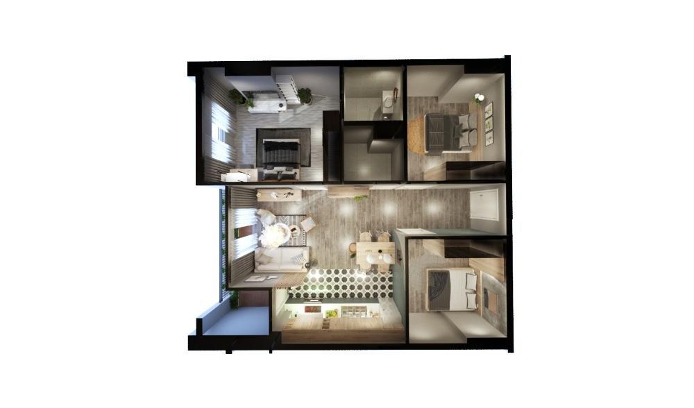 Bán căn hộ An Sương Ipark đang giao, Quận 12, 80m2, 3PN 2.3 Tỷ, Hộ Trợ Vay 70%
