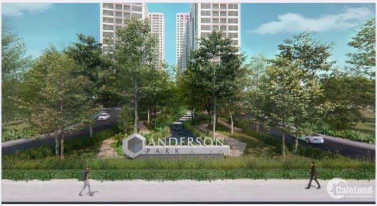 Nhận giữ chỗ Booking căn hộ dự án Anderson Park Thuận An Bình Dương