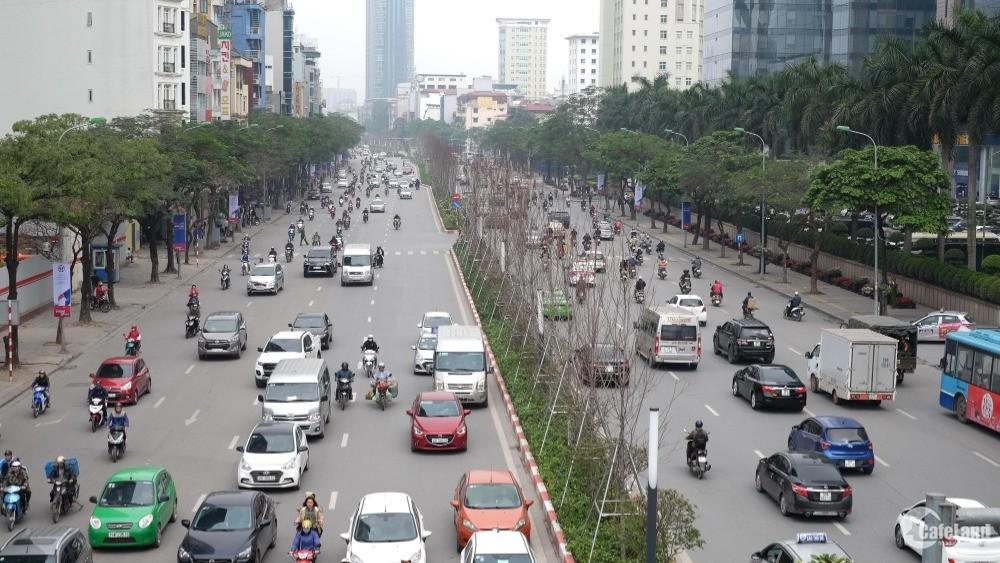 Bán Gấp Tòa Nhà Phố Trần Duy Hưng 10 Tầng Sừng Sững , mặt tiền 9m thông sàn