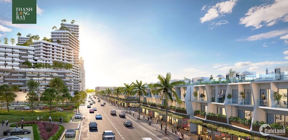 Nhà phố biển 2 mặt tiền sầm uất sở hữu lâu dài chỉ 1.6 tỷ TT đến khi nhận nhà