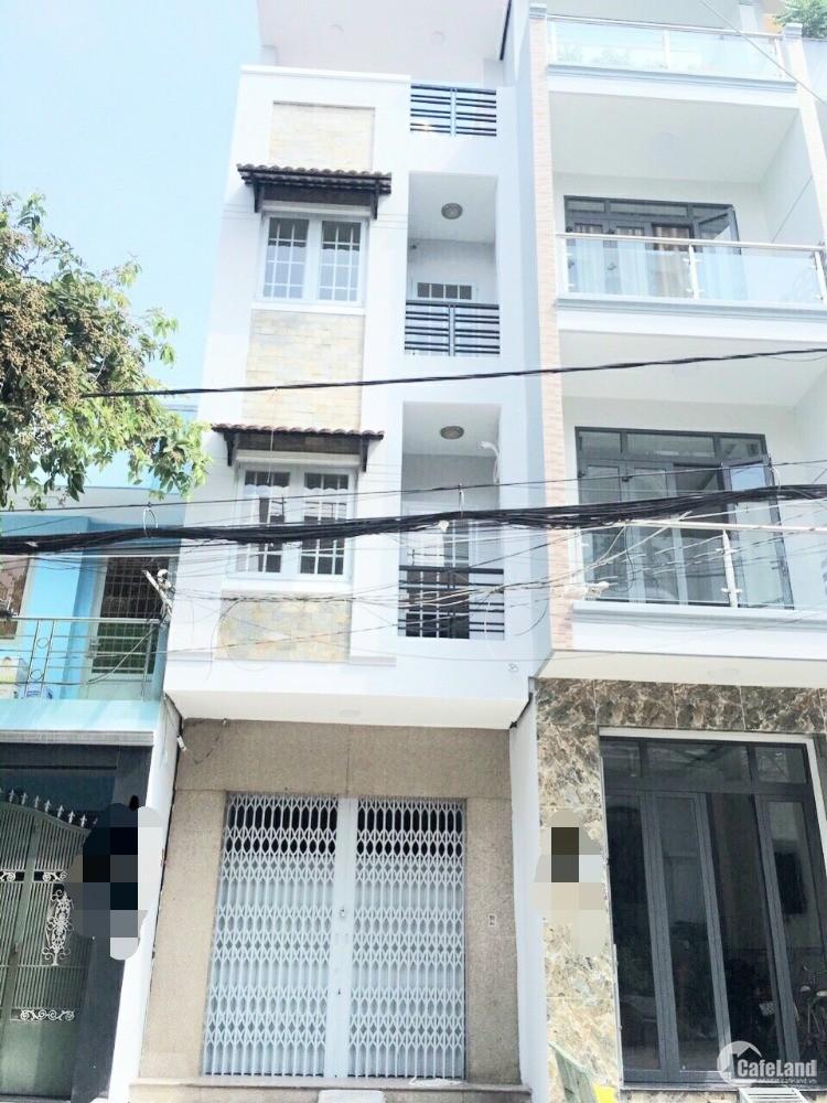 Bán nhà mới mặt tiền tiện kinh doanh Lê Quyên Phường 4 Quận 8
