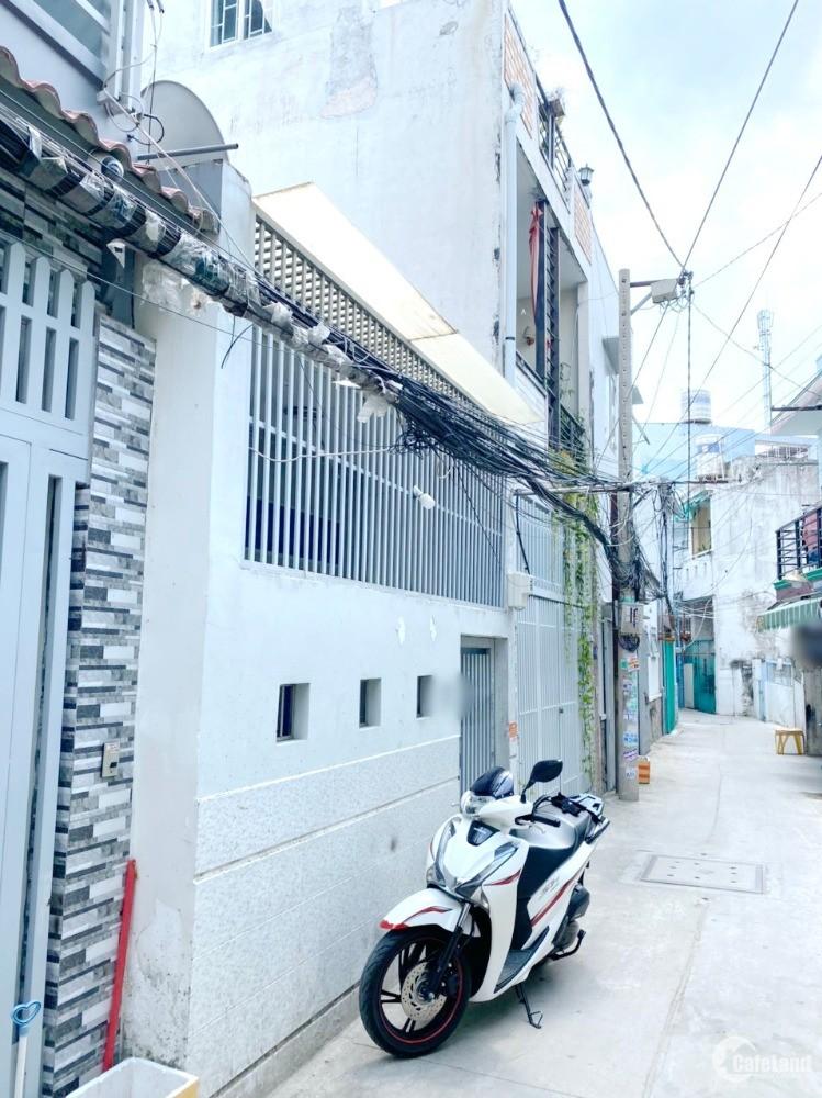 Nhà  4.1x13m/ nhà cấp 4 hẻm 184 Âu Dương Lân P3 Q8 - Mr Hà 0903772656