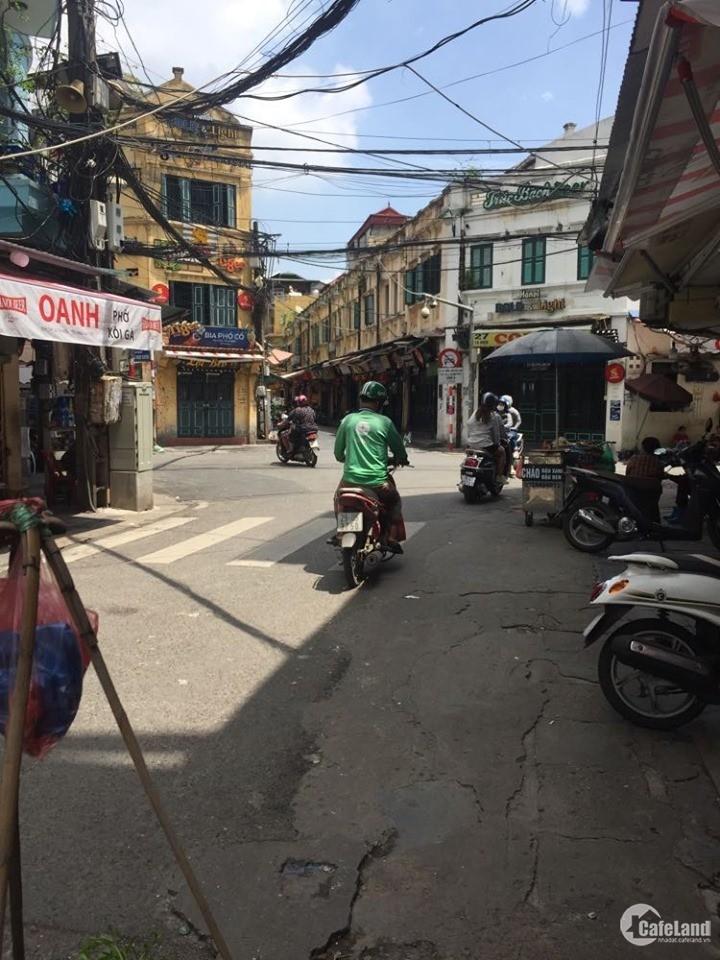 Bán nhà riêng phố Tạ Hiện, Hàng Bạc, Hoàn Kiếm, 20m2 x 4t, mt 3,2m, chỉ 3,6 tỷ