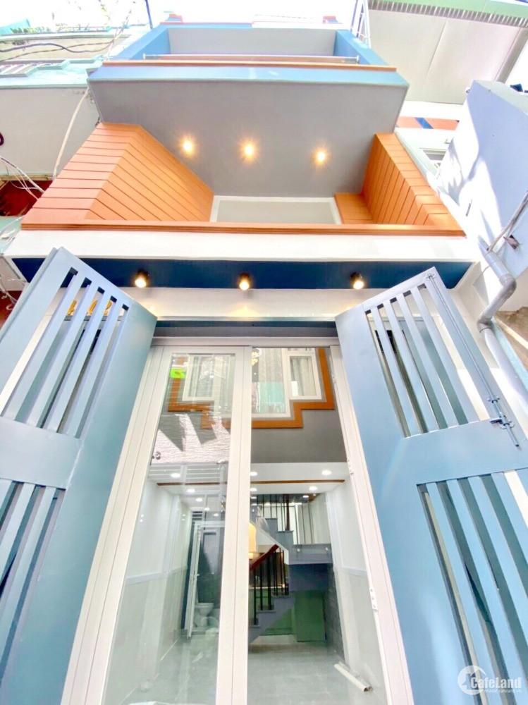 Bán nhà đẹp mặt tiền hẻm Trần Bình Trọng Phường 1 Quận 5
