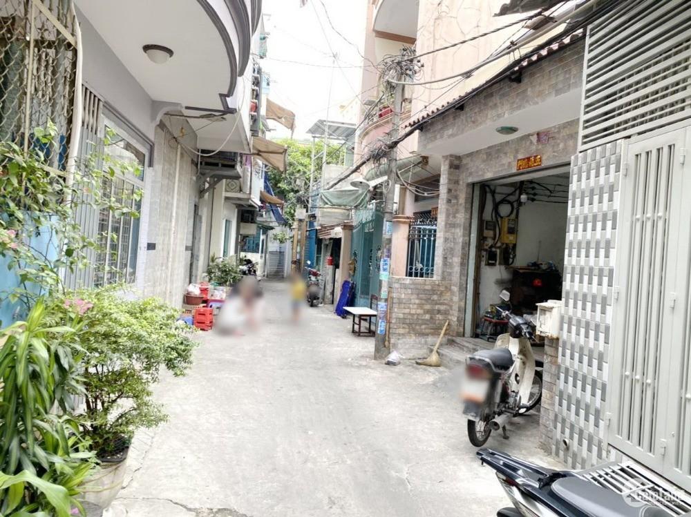 Bán nhà 2 lầu (4x25m) hẻm 177 Bùi Minh Trực Phường 5 Quận 8