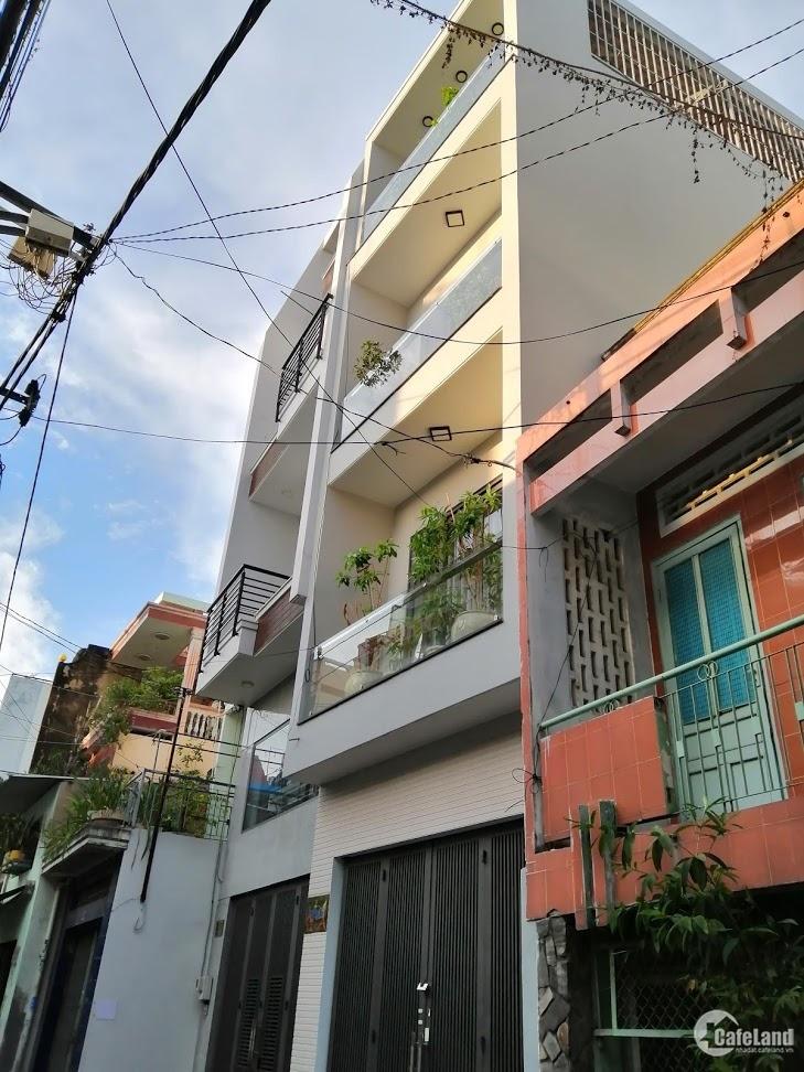 Bán gấp nhà đẹp HXH đỗ trong nhà Bàu Cát P12 quận Tân Bình,4 Tầng,giá 9 tỷ