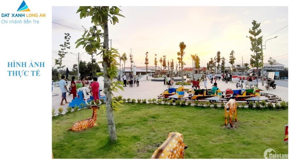 Dự án phố chợ thương mại gần bờ biển Thanh Phú,  Bến Tre