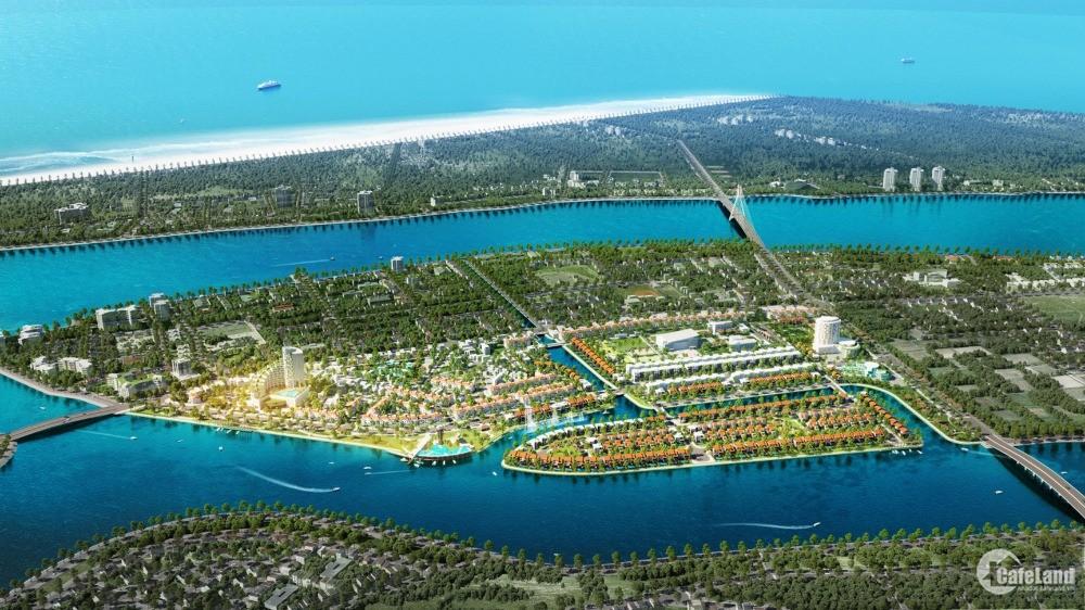 Đất nền kinh đô ánh sáng Trung Tâm Thành Phố Ven sông Kề Biển.